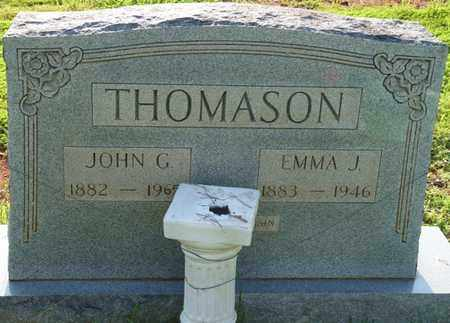 THOMASON, JOHN G - Colbert County, Alabama | JOHN G THOMASON - Alabama Gravestone Photos