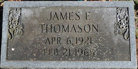 THOMASON, JAMES E - Colbert County, Alabama | JAMES E THOMASON - Alabama Gravestone Photos
