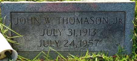 THOMASON JR., JOHN W - Colbert County, Alabama | JOHN W THOMASON JR. - Alabama Gravestone Photos
