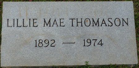 THOMASON, LILLIE MAE - Colbert County, Alabama   LILLIE MAE THOMASON - Alabama Gravestone Photos