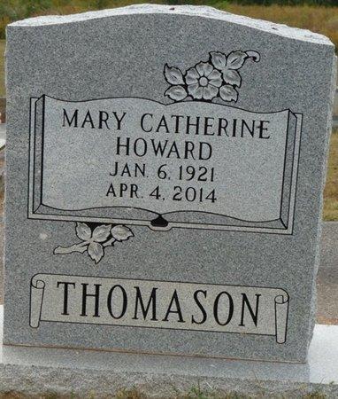 HOWARD THOMASON, MARY CATHERINE - Colbert County, Alabama | MARY CATHERINE HOWARD THOMASON - Alabama Gravestone Photos