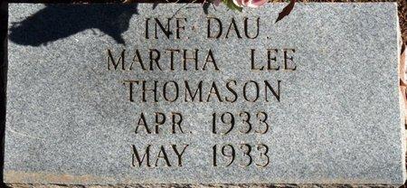 THOMASON, MARTHA LEE - Colbert County, Alabama | MARTHA LEE THOMASON - Alabama Gravestone Photos