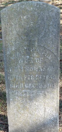 THOMASON, MARTHA RUTH - Colbert County, Alabama | MARTHA RUTH THOMASON - Alabama Gravestone Photos