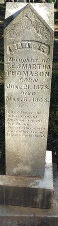 THOMASON, MARY F - Colbert County, Alabama | MARY F THOMASON - Alabama Gravestone Photos