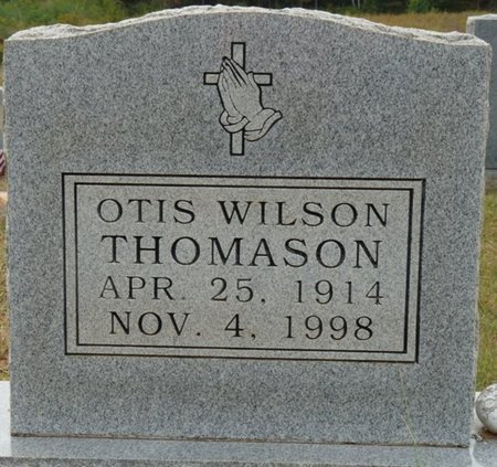 THOMASON, OTIS WILSON - Colbert County, Alabama | OTIS WILSON THOMASON - Alabama Gravestone Photos