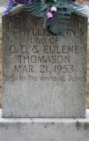 THOMASON, PHYLLIS ANN - Colbert County, Alabama | PHYLLIS ANN THOMASON - Alabama Gravestone Photos