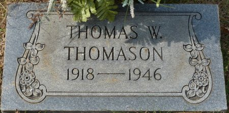 THOMASON, THOMAS W - Colbert County, Alabama | THOMAS W THOMASON - Alabama Gravestone Photos