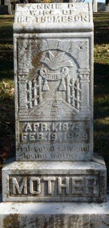 THOMPSON, ANNIE - Colbert County, Alabama   ANNIE THOMPSON - Alabama Gravestone Photos