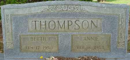THOMPSON, BETTIE - Colbert County, Alabama | BETTIE THOMPSON - Alabama Gravestone Photos