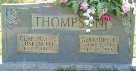 THOMPSON, CLARENCE C - Colbert County, Alabama | CLARENCE C THOMPSON - Alabama Gravestone Photos