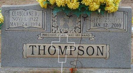 THOMPSON, CLABOURNE R - Colbert County, Alabama | CLABOURNE R THOMPSON - Alabama Gravestone Photos