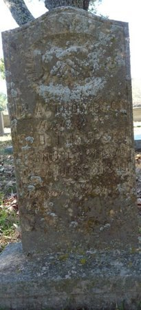 THOMPSON, D.A. - Colbert County, Alabama | D.A. THOMPSON - Alabama Gravestone Photos