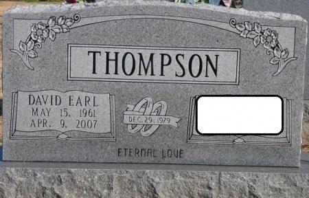 THOMPSON, DAVID EARL - Colbert County, Alabama | DAVID EARL THOMPSON - Alabama Gravestone Photos