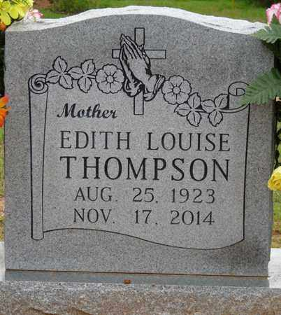 THOMPSON, EDITH LOUISE - Colbert County, Alabama | EDITH LOUISE THOMPSON - Alabama Gravestone Photos