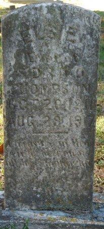 THOMPSON, ELSIE - Colbert County, Alabama   ELSIE THOMPSON - Alabama Gravestone Photos