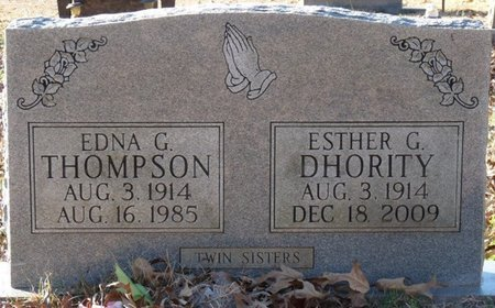 THOMPSON, EDNA - Colbert County, Alabama | EDNA THOMPSON - Alabama Gravestone Photos