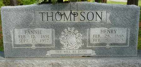 THOMPSON, FANNIE - Colbert County, Alabama | FANNIE THOMPSON - Alabama Gravestone Photos