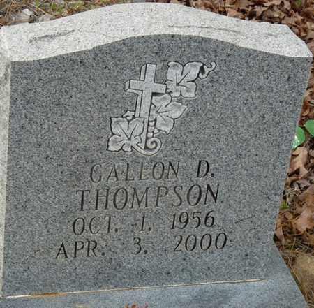 THOMPSON, GALEON D - Colbert County, Alabama | GALEON D THOMPSON - Alabama Gravestone Photos