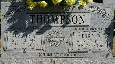 THOMPSON, GLADYS A - Colbert County, Alabama   GLADYS A THOMPSON - Alabama Gravestone Photos