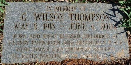 THOMPSON, G. WILSON - Colbert County, Alabama | G. WILSON THOMPSON - Alabama Gravestone Photos