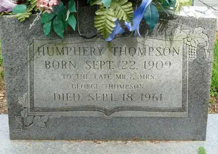 THOMPSON, HUMPHERY - Colbert County, Alabama | HUMPHERY THOMPSON - Alabama Gravestone Photos