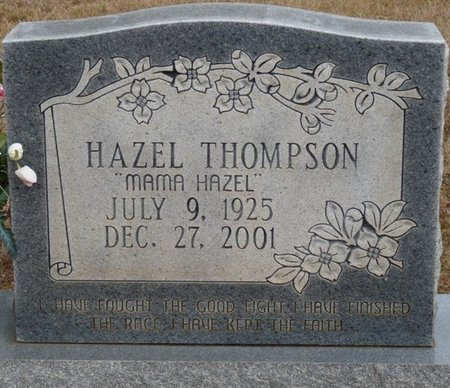 "THOMPSON, HAZEL ""MAMA HAZEL"" - Colbert County, Alabama | HAZEL ""MAMA HAZEL"" THOMPSON - Alabama Gravestone Photos"