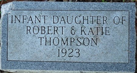 THOMPSON, INFANT DAUGHTER - Colbert County, Alabama | INFANT DAUGHTER THOMPSON - Alabama Gravestone Photos