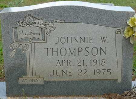 THOMPSON, JOHNNIE W - Colbert County, Alabama | JOHNNIE W THOMPSON - Alabama Gravestone Photos