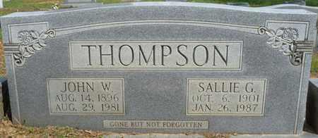 THOMPSON, JOHN W - Colbert County, Alabama   JOHN W THOMPSON - Alabama Gravestone Photos