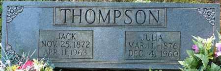 THOMPSON, JACK - Colbert County, Alabama | JACK THOMPSON - Alabama Gravestone Photos