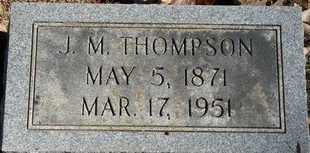 THOMPSON, JAMES M - Colbert County, Alabama | JAMES M THOMPSON - Alabama Gravestone Photos