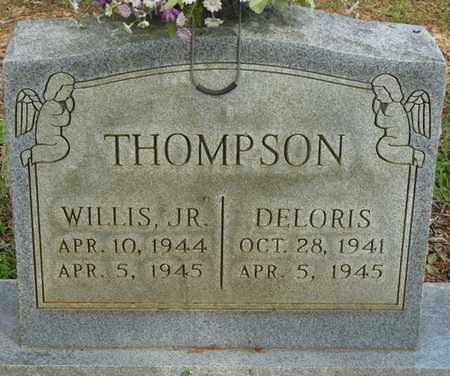THOMPSON JR., WILLIS - Colbert County, Alabama | WILLIS THOMPSON JR. - Alabama Gravestone Photos