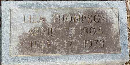 THOMPSON, LILA - Colbert County, Alabama   LILA THOMPSON - Alabama Gravestone Photos