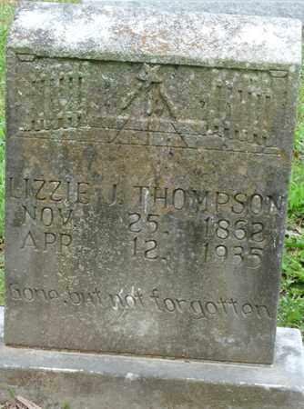 THOMPSON, LIZZIE J - Colbert County, Alabama | LIZZIE J THOMPSON - Alabama Gravestone Photos