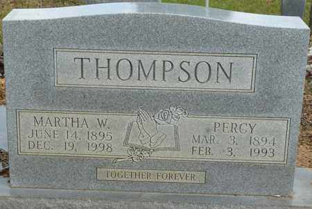 THOMPSON, MARTHA W - Colbert County, Alabama | MARTHA W THOMPSON - Alabama Gravestone Photos