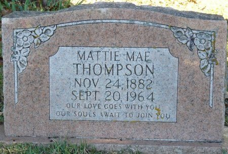 THOMPSON, MATTIE MAE - Colbert County, Alabama | MATTIE MAE THOMPSON - Alabama Gravestone Photos