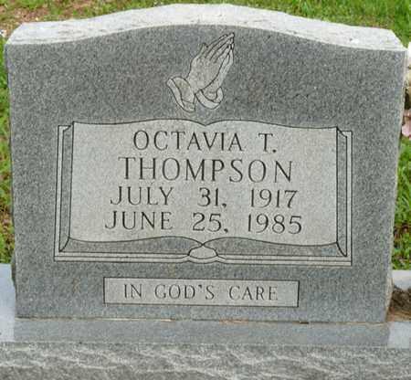 THOMPSON, OCTAVIA T - Colbert County, Alabama   OCTAVIA T THOMPSON - Alabama Gravestone Photos
