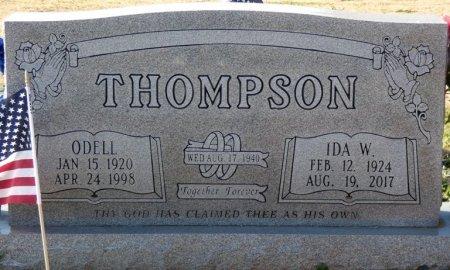 THOMPSON, OTIS ODELL - Colbert County, Alabama | OTIS ODELL THOMPSON - Alabama Gravestone Photos
