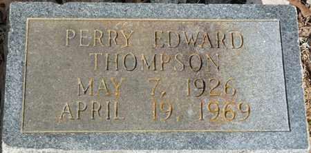 THOMPSON, PERRY EDWARD - Colbert County, Alabama | PERRY EDWARD THOMPSON - Alabama Gravestone Photos