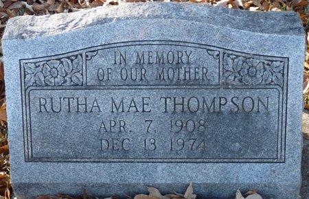 THOMPSON, RUTHA MAE - Colbert County, Alabama | RUTHA MAE THOMPSON - Alabama Gravestone Photos