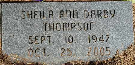 DARBY THOMPSON, SHEILA ANN - Colbert County, Alabama | SHEILA ANN DARBY THOMPSON - Alabama Gravestone Photos