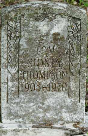 THOMPSON, TOM SIDNEY - Colbert County, Alabama | TOM SIDNEY THOMPSON - Alabama Gravestone Photos