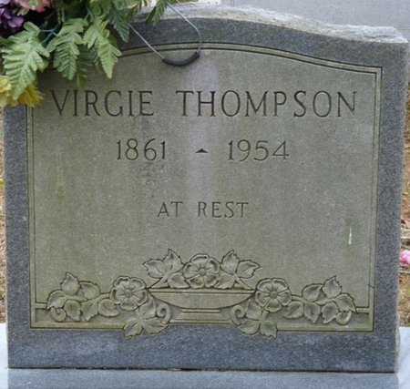 THOMPSON, VIRGIE - Colbert County, Alabama | VIRGIE THOMPSON - Alabama Gravestone Photos