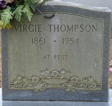 FREEMAN THOMPSON, VIRGIE - Colbert County, Alabama | VIRGIE FREEMAN THOMPSON - Alabama Gravestone Photos
