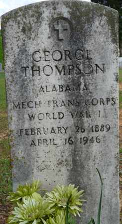 THOMPSON (VETERAN WWI), GEORGE - Colbert County, Alabama | GEORGE THOMPSON (VETERAN WWI) - Alabama Gravestone Photos