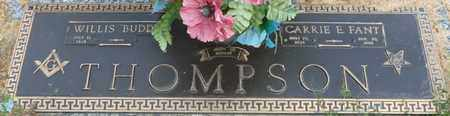 "THOMPSON, WILLIS 'BUDDY"" - Colbert County, Alabama | WILLIS 'BUDDY"" THOMPSON - Alabama Gravestone Photos"