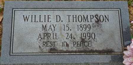 THOMPSON, WILLIE D - Colbert County, Alabama | WILLIE D THOMPSON - Alabama Gravestone Photos