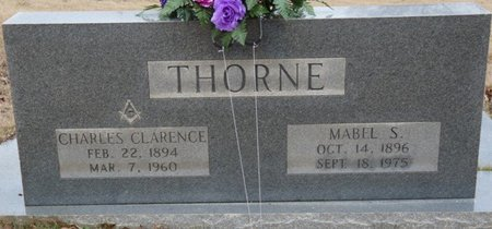 THORNE, CHARLES CLARENCE - Colbert County, Alabama | CHARLES CLARENCE THORNE - Alabama Gravestone Photos