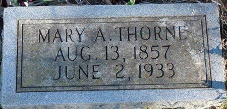 THORNE, MARY A - Colbert County, Alabama | MARY A THORNE - Alabama Gravestone Photos
