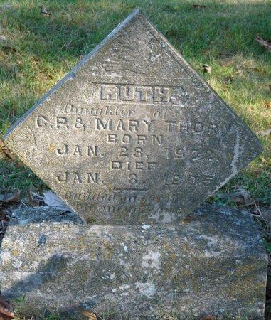 THORNE, RUTH - Colbert County, Alabama | RUTH THORNE - Alabama Gravestone Photos